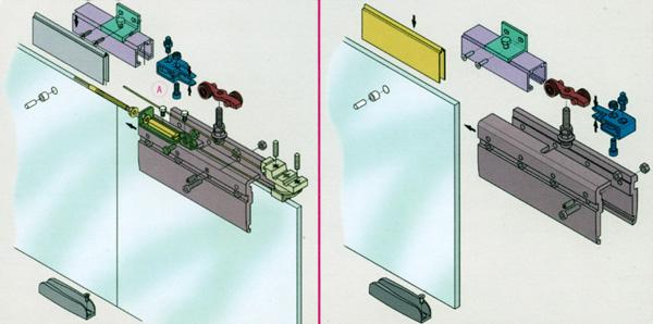 Механизм для раздвижных дверей своими руками
